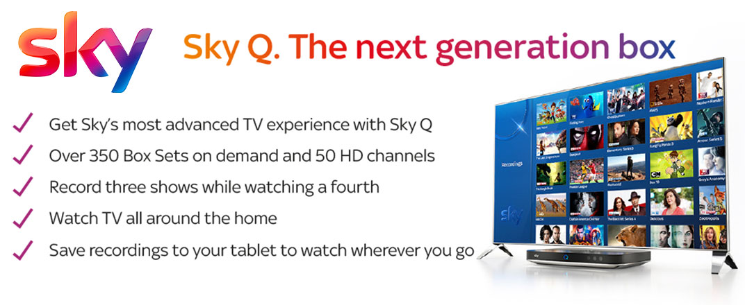 Sky Q. The next generation box